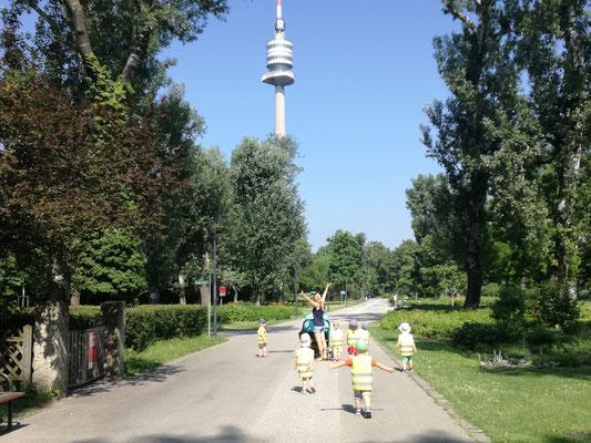 Donaupark 2019 Donauturm entdeckt