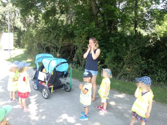 Donaupark 2019 Wir hören den Vögel zu