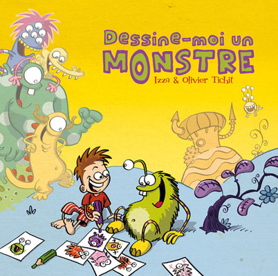 Dessine-moi un monstre - couverture