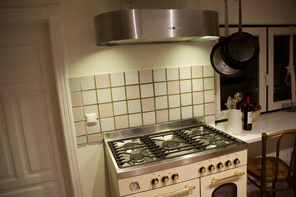 Ferienhaus Auszeit am Meer - lässiger Luxus und echtes Landleben direkt an der Nordsee - Küche