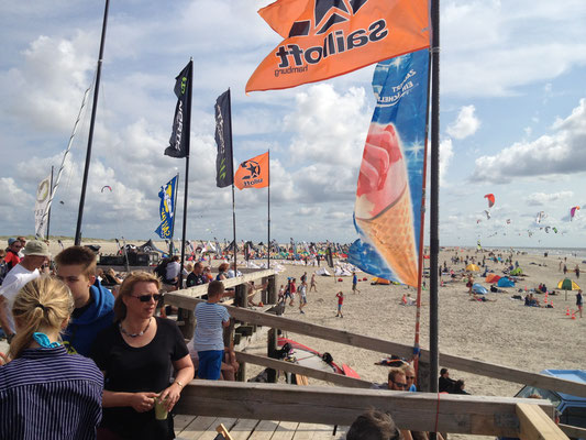 Lieblingsplatz - die Kiterhütte XH2O am Ordinger Strand