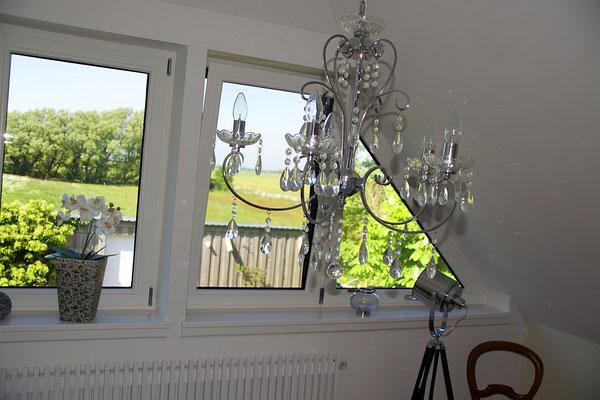 Ferienhaus Alte Deichkate - lässiger Luxus und echtes Landleben direkt an der Nordsee - Schlafzimmer Nr. 2, 1. Etage