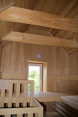 Ferienhaus Alte Deichkate - lässiger Luxus und echtes Landleben direkt an der Nordsee - Sauna 1. Etage