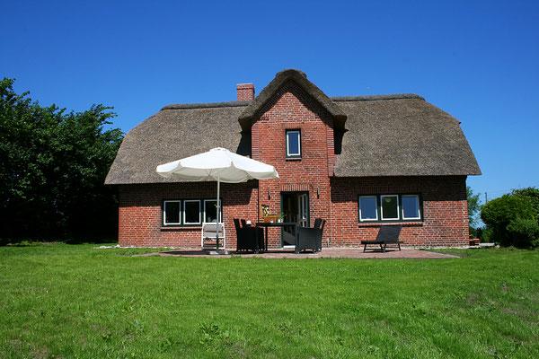 """Das Ferienhaus """"Alte Deichkate"""" direkt am Außendeich"""