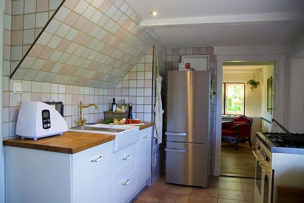 Ferienhaus Alte Deichkate - lässiger Luxus und echtes Landleben direkt an der Nordsee - Küche