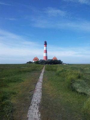 Ferienhaus Alte Deichkate - nicht weit weg - der weltberühmte Westerhever Leuchtturm