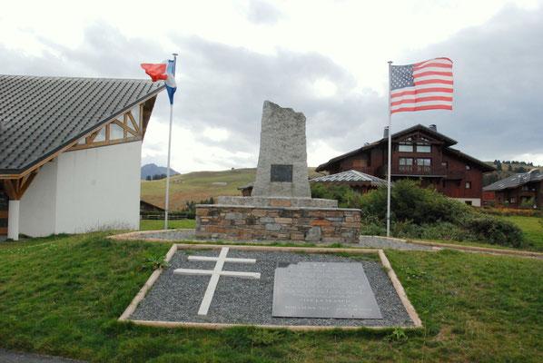 "Landing site memorial ""Les Saisies"""