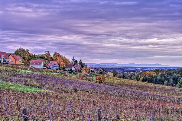 Paysage champêtre - Itterswiller, Alsace - Photographie HDR - Dominique MAYER - www.dominique-mayer.com