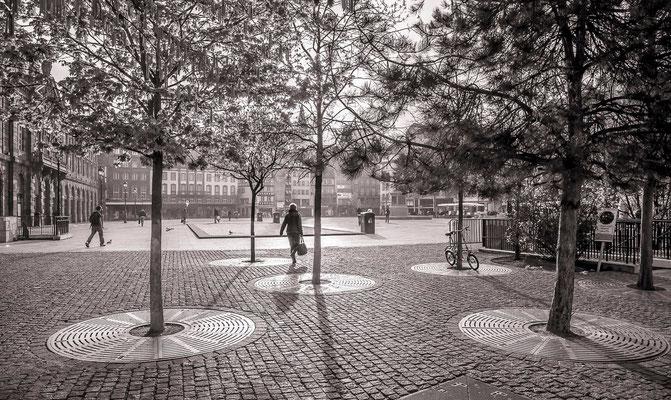 #PlaceKléber - #Photos de Strasbourg - #Paysages urbains - #DominiqueMAYER - www.dominique-mayer.com
