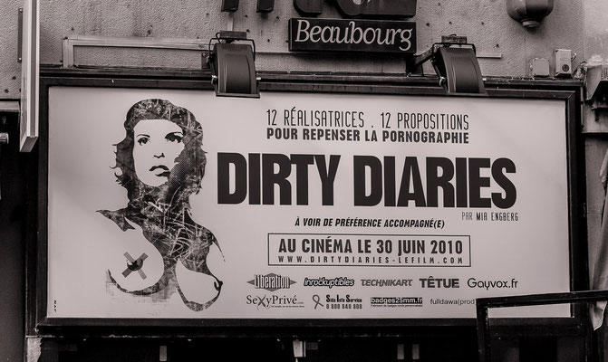 #Dirty Diaries - #Cinéma #Beaubourg à Paris - #Les rues de Paris - #Paris - #Photos de Paris - #Paysages #urbains - #Dominique MAYER - www.dominique-mayer.com