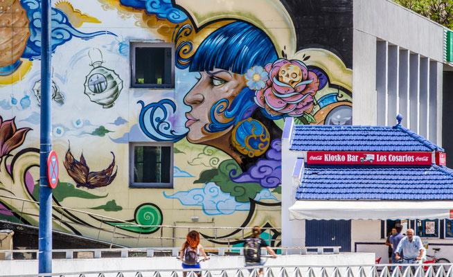 Graffitis - Les rues de Séville - Flâner à Séville - Séville en Espagne - Photos de Séville - Architecture à séville - Vacances en Espagne - Dominique MAYER - www.dominique-mayer.com