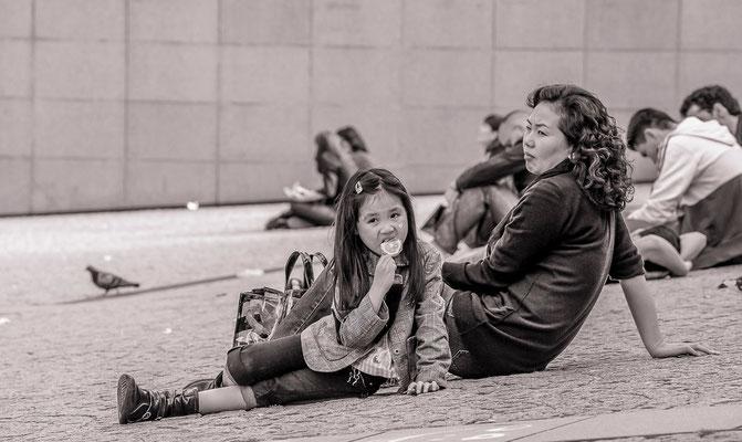 #CentrePompidou - #badauds de Paris - #Paris - #PhotosdeParis - #Paysages urbains - #DominiqueMAYER - www.dominique-mayer.com