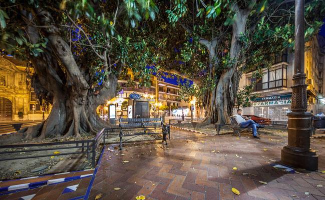 Place à Séville - Badauds - Les rues de Séville - Flâner à Séville - Séville en Espagne - Photos de Séville - Architecture à Séville - Vacances en Espagne - Dominique MAYER - www.dominique-mayer.com