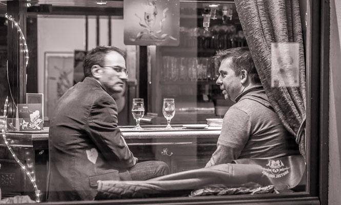 Pause café - #Strasbourg - #PhotosdeStrasbourg - #Paysagesurbains - #DominiqueMAYER - www.dominique-mayer.com