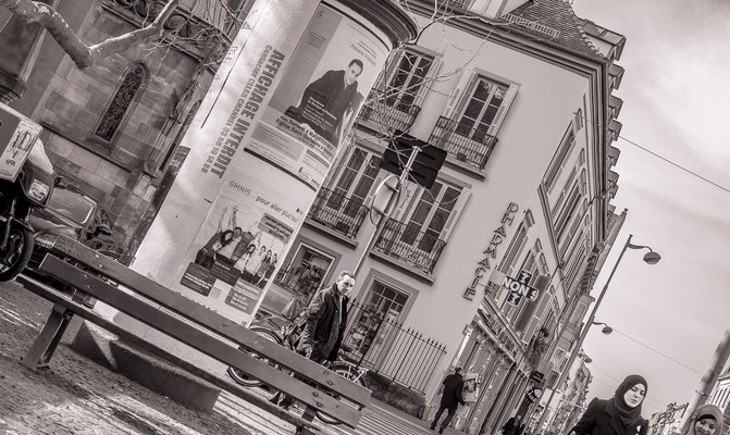 #ColonneMaurice - #Photos de Strasbourg - #Paysages urbains - #DominiqueMAYER - www.dominique-mayer.com