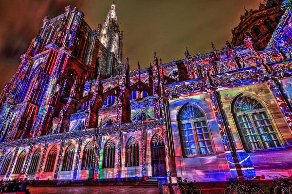 Cathédrale de Strasbourg, 1000 ans d'histoire - Monuments historiques - Visiter Strasbourg - Les rues de Strasbourg - Photographie HDR - Dominique MAYER - www.dominique-mayer.com