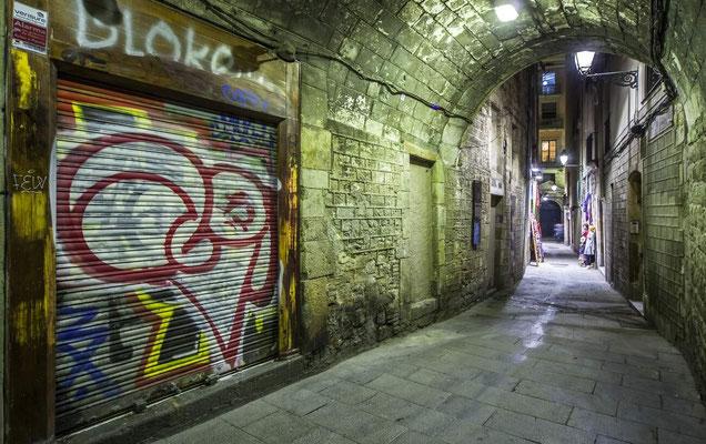 Barcelone en Espagne - Photos de villes - Paysages urbains - Photos de nuit - Vacances en Espagne - Architecture de Barcelone - Dominique MAYER - www.dominique-mayer.com