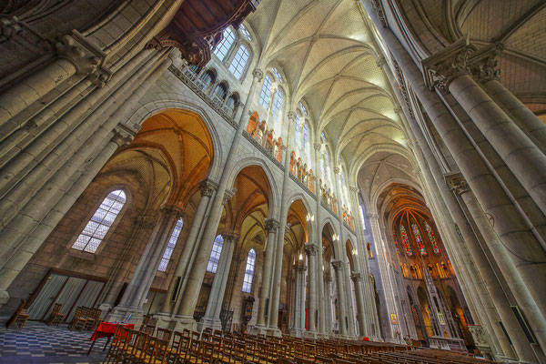 Eglise Saint-Nicolas, Nantes - Photographie HDR - Dominique MAYER - www.dominique-mayer.com