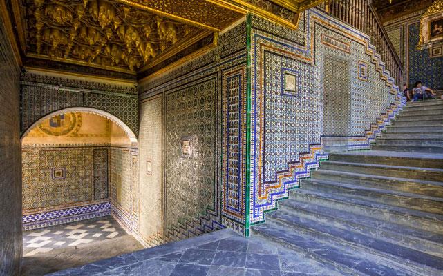 Casa de Pilatos à Séville - Les rues de Séville - Badauds - Flâner à Séville - Séville en Espagne - Photos de Séville - Architecture à Séville - Vacances en Espagne - Dominique MAYER - www.dominique-mayer.com