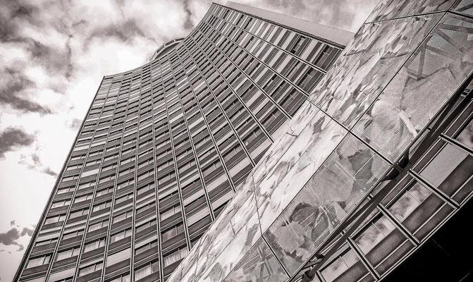#La tour Europe de #Mulhouse - #La ville de Mulhouse - #Architecture de #Mulhouse - #Paysages urbains - #Dominique MAYER - www.dominique-mayer.com