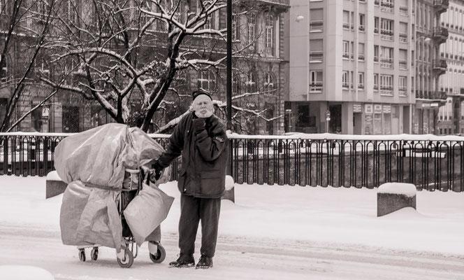#SDF en hiver - #Strasbourg - #PhotosStrasbourg - #Paysagesurbains - #DominiqueMAYER - www.dominique-mayer.com