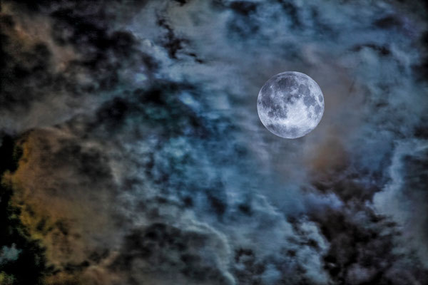 La Lune Bleue du 31 juillet 2015 - Photos de la lune - Astrophotographie - Photographie HDR - Dominique MAYER - www.dominique-mayer.com