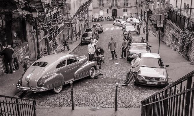 #ruesdeParis - #Paris - #PhotosdeParis - #Paysagesurbains - #DominiqueMAYER - www.dominique-mayer.com