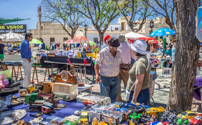 Jour de marché - Les rues de Jerez de la Frontera - Badauds - Flâner à Jerez de la Frontera - Jerez de la Frontera en Espagne - Photos de Jerez de la Frontera - Vacances en Espagne - Dominique MAYER - www.dominique-mayer.com
