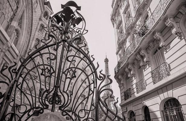 #Architecture - #Artnouveau à Paris - #TourEiffel - #Paris - #Photos de Paris - #Paysages urbains - #DominiqueMAYER - www.dominique-mayer.com