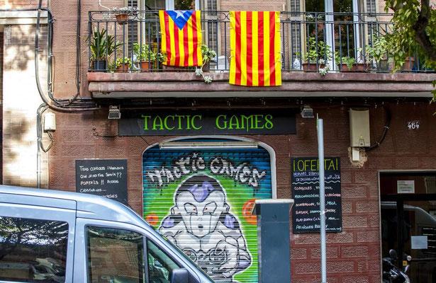 Graffitis - Barcelone en Espagne - Photos de villes - Paysages urbains - Vacances en Espagne - Architecture de Barcelone - Dominique MAYER - www.dominique-mayer.com