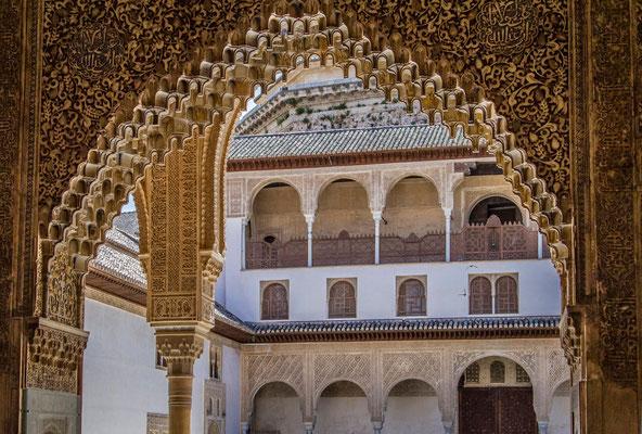 L'Alhambra à Grenade en Espagne - Visiter l'Alhambra - Flâner à Grenade - Grenade en Espagne - Photos de Grenade - Architecture à Grenade - Vacances en Espagne - Dominique MAYER - www.dominique-mayer.com