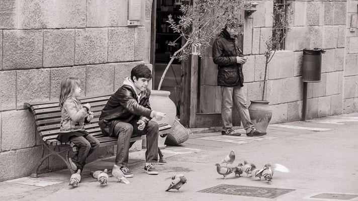 #Bancs publics - #Barcelona #Espagne - #Dominique MAYER - #Photographie - www.dominique-mayer.com