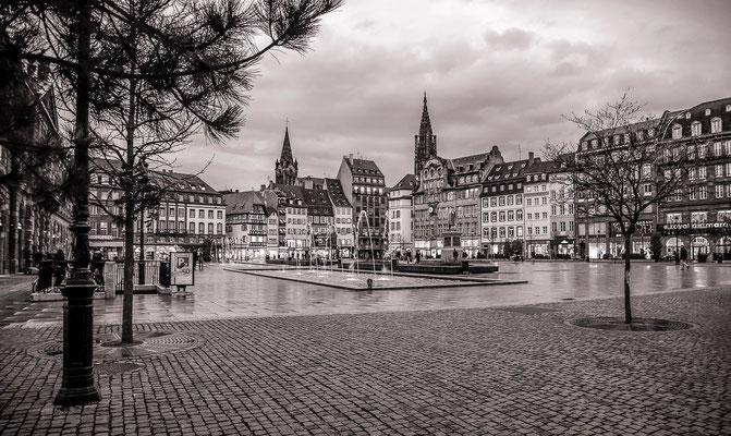 #PlaceKleber - #Strasbourg - #Photos de Strasbourg - #Paysages urbains - #Photos de rues - #Dominique MAYER - www.dominique-mayer.com