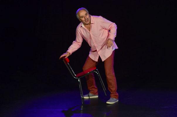 Alberto Garcia Sanchez, Spectacle Machintruc au festival du Lébérou 2017