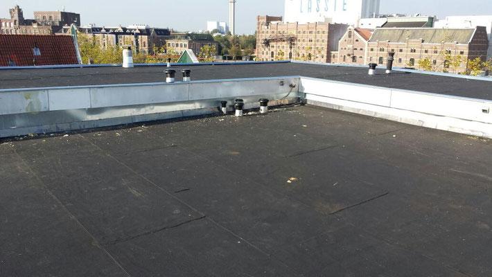 Aanbrengen isolatie / vervanging dakbedekking