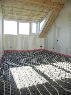 Aanleg vloerverwarming woning