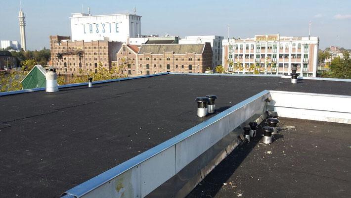 Renovatie daken Restaurant Wormerveer