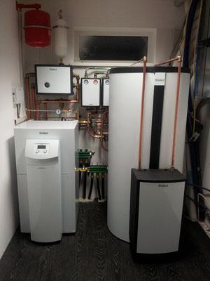 Aanleg warmtepomp met Allstore boiler