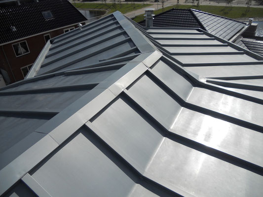 Energiedak van zink, project Almere