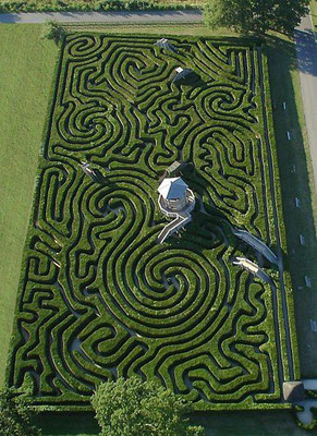 Longleat, Angleterre et ses 16180 ifs