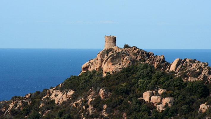 La tour génoise de Roccapina