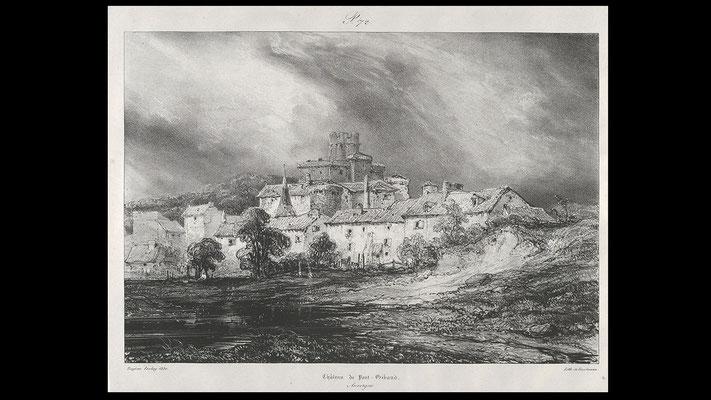 en 1831, par Eugène Isabey, au MoMa de New-York