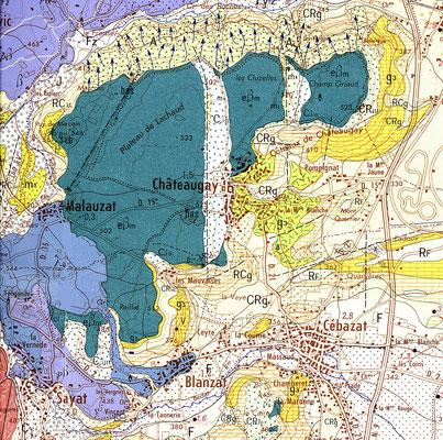 la même zone BRGM 1973