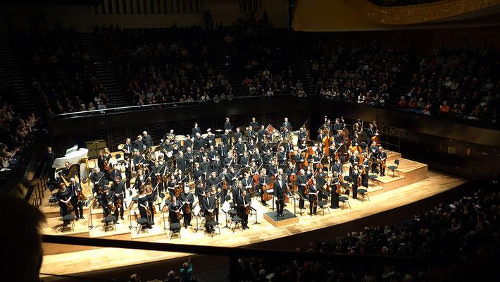 Concert de l'Orchestre de Paris le 9 février 2017