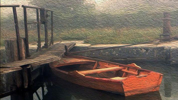 Filtre peinture à l'huile marche bien avec les éléments