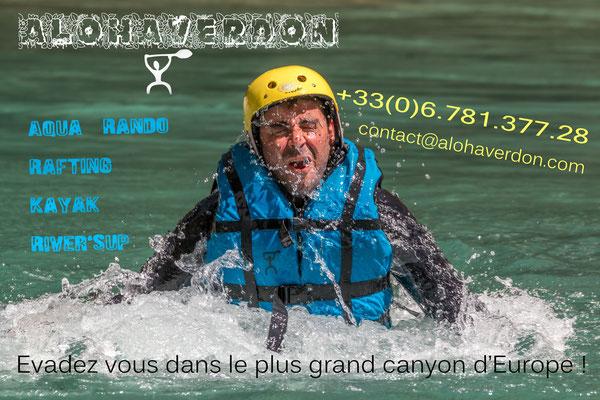 Aqua Trekking-Verdon Canyon