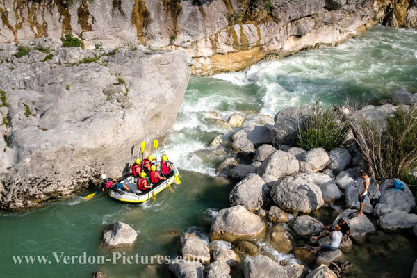Rafting-Gorges du verdon.