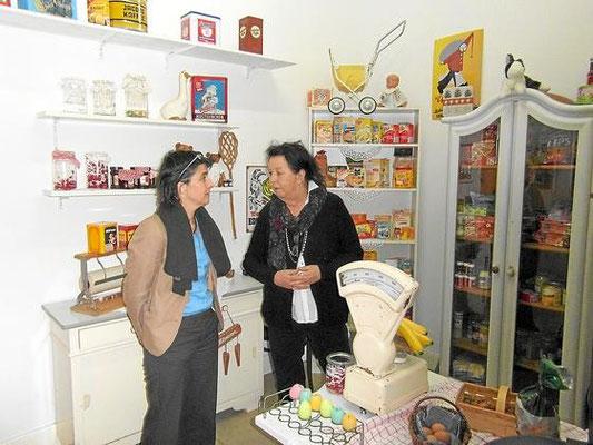 NRW Gesundheitsministerin Barbara Steffens zu Besuch im Landhaus