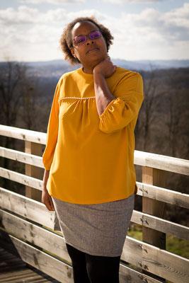 blouse mila, schnitten patterns