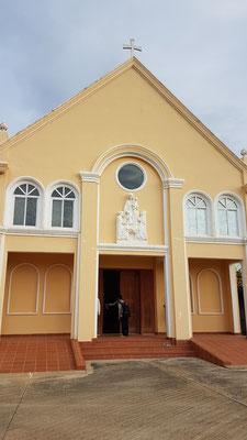 Façade de la chapelle du Carmel